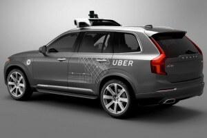 Uber's Volvo XC90